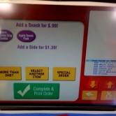 Wawa Deli Kiosk 15 - Upsell Sides