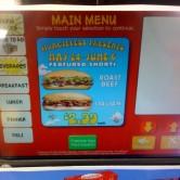 Wawa Deli Kiosk 2 - Main Menu