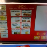 Wawa Deli Kiosk 3 - Lunch Menu