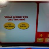 Wawa Deli Kiosk 6 - Toast Option